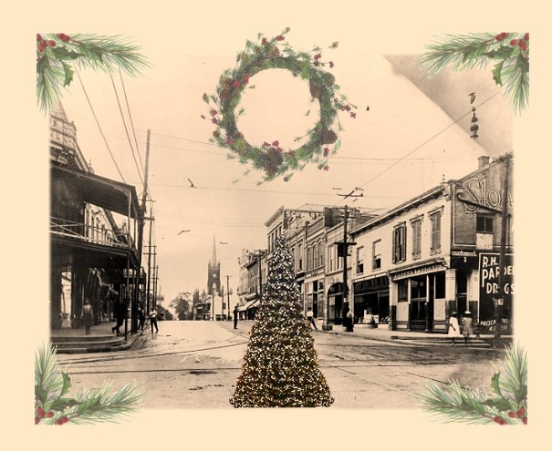 Christmas In Natchez, My Home Town